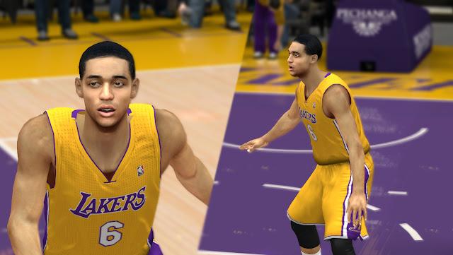 Jordan Clarkson Cyberface [FOR 2K14] - NBA 2K Updates, Roster Update, Cyberface, Etc