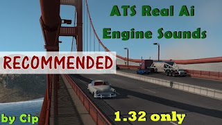 ats mods, american truck simulator mods, recommendedmodsats, ats sound mods, ats realistic mods, ats engine sounds, ats real ai traffic, ats real traffic sounds