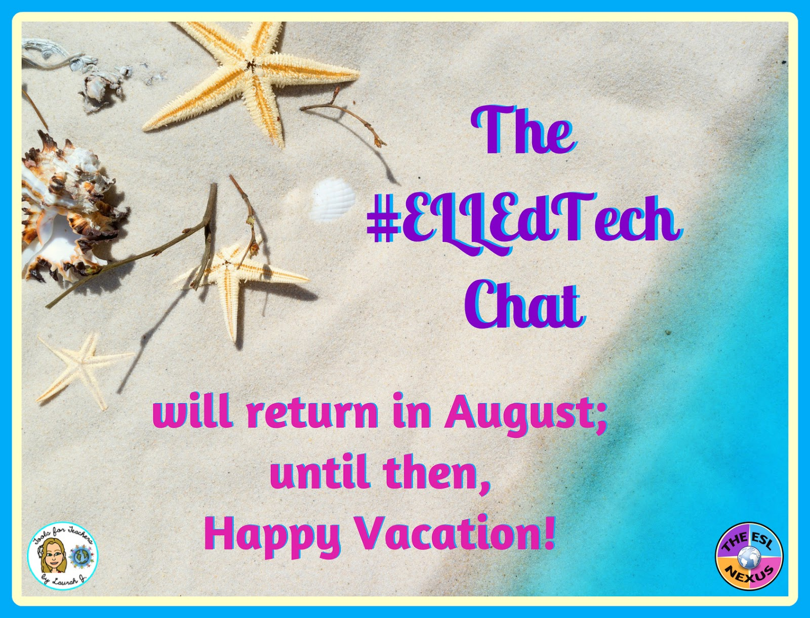 Check out the #ELLEdTech hashtag for some great tech tools to prevent summer slide in ELLs & grab a FREE checklist to plan activities that help avoid summer learning loss in ELLs | The ESL Nexus