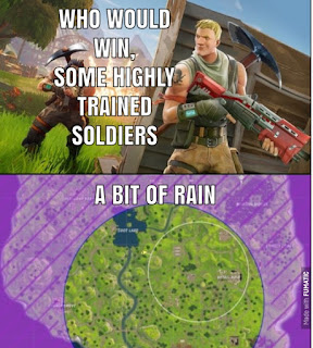 a bit of rain in fortnite