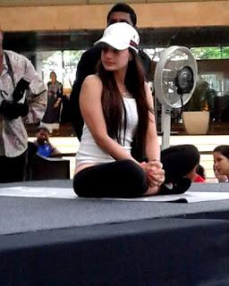 Amisha Patel Yoga Pose