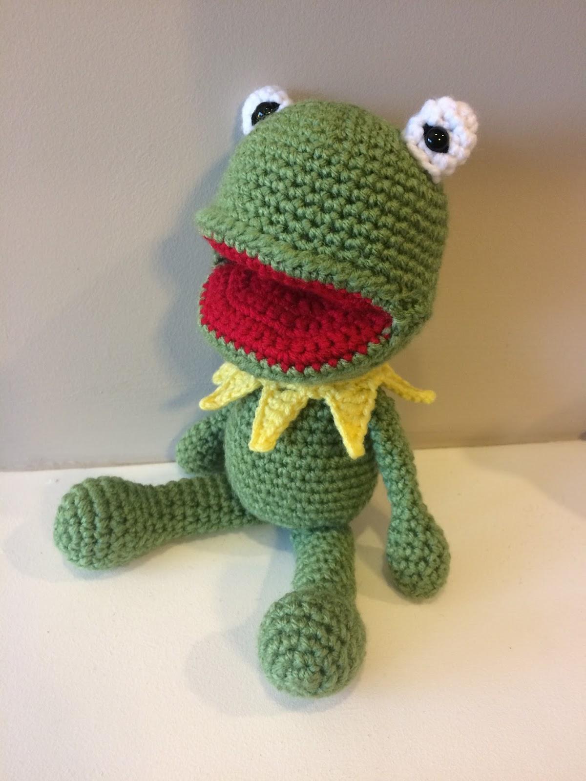 Free crochet pattern for kermit the frog bankloansurffo Gallery