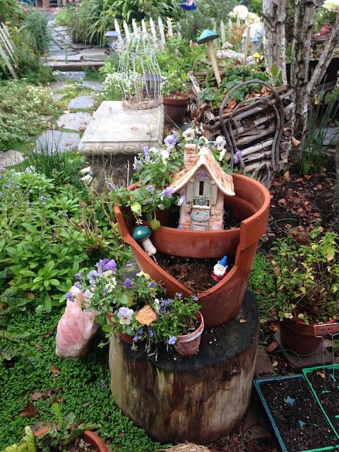 Rooted in thyme walking through the garden - When you walk through the garden ...