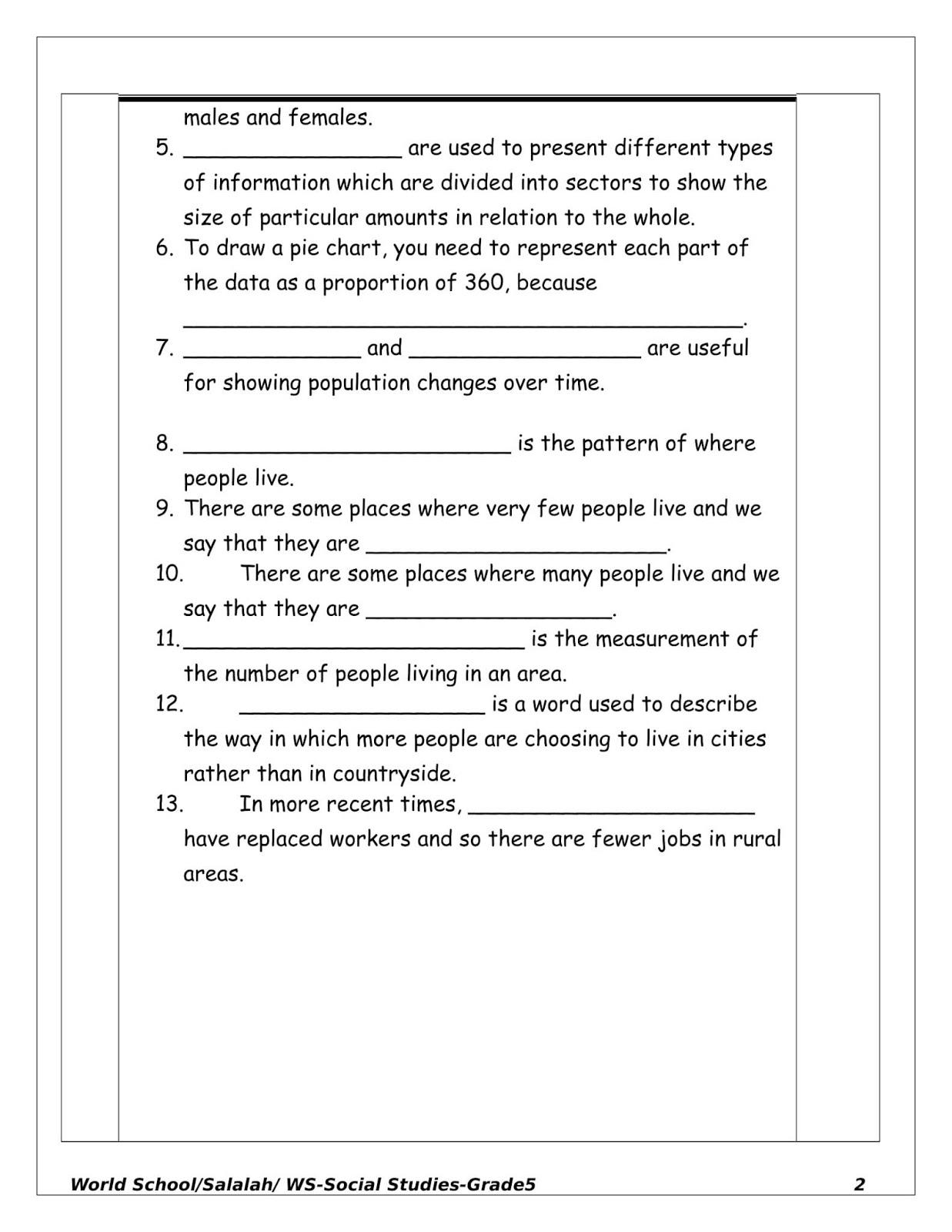 Uae Sst Worksheet Grade 2   Printable Worksheets and Activities for  Teachers [ 1600 x 1237 Pixel ]