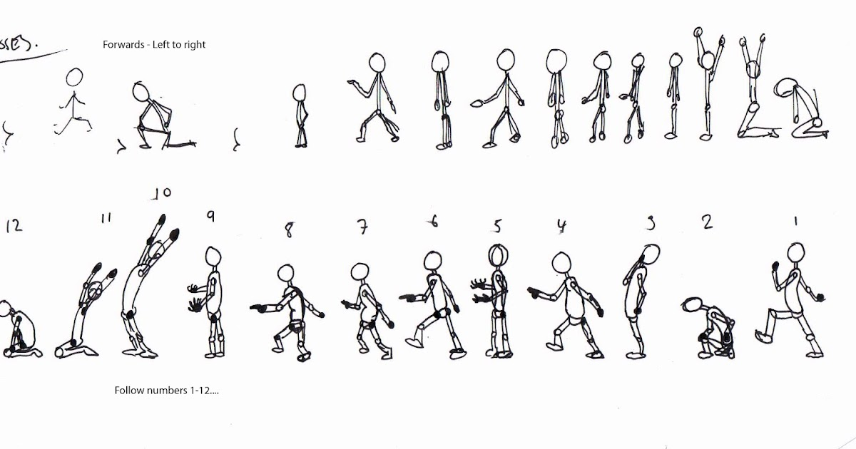 Adam Weaver Animation: Key poses and Video Reference