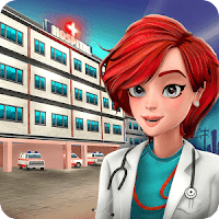 Hospital Manager - Doctor & Surgery Game Infinite (Cash - Hearts - Coffee) MOD APK