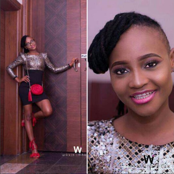 Lovely photo of #BBNaija ex-housemate, Marvis without glasses on