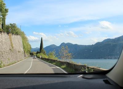 Lago de Como en coche