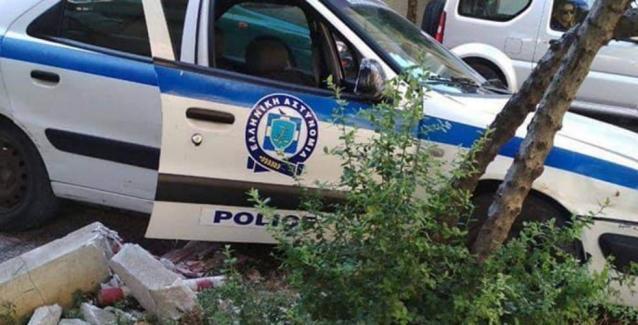 Τροχαίο με περιπολικό: Τραυματίστηκαν ελαφρά δύο αστυνομικοί - Έσπασαν τα φρένα λένε