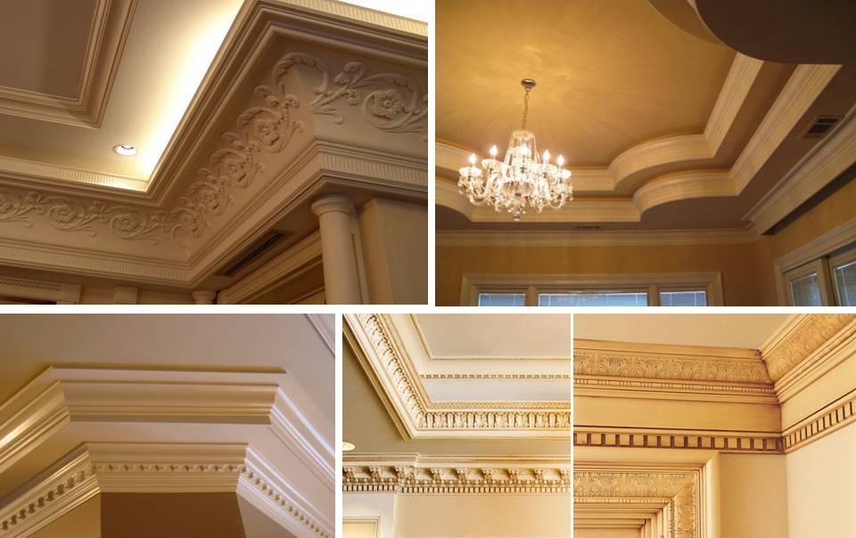 40 amazing ceiling crown molding ideas decor units. Black Bedroom Furniture Sets. Home Design Ideas
