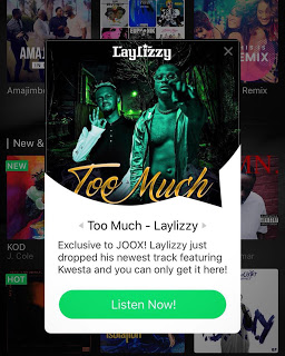 imagem Laylizzy feat feat. Kwesta - Too Much