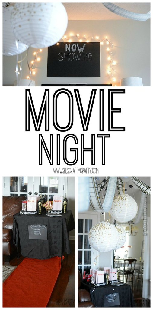 now showing, movie night, family party, party