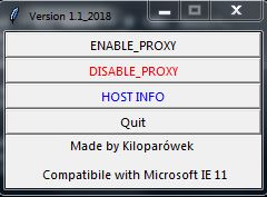My place inside of the Internet: Program for Enable/Disable