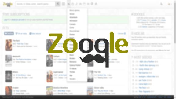 Zooqle افضل محرك بحث تورنت يحتوي على ملايين الملفات!