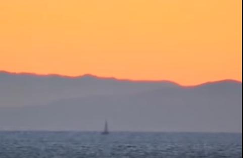 Le montagne dell'Albania viste dall'Italia :da Otranto(video)