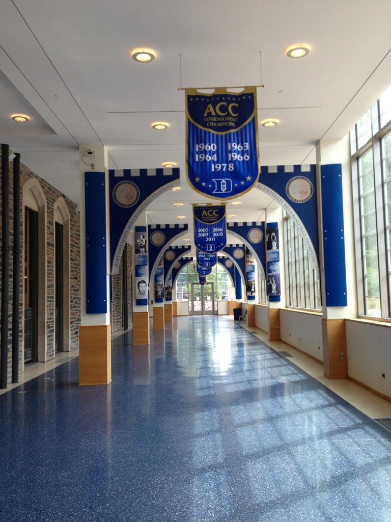 Duke Basketball >> Lady Bulldog Hoops: A LOOK INSIDE CAMERON INDOOR STADIUM