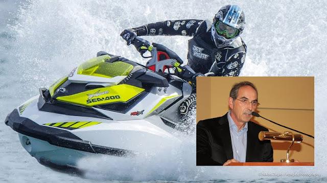 Δημήτρης Σφυρής: Το Πόρτο Χέλι είναι έτοιμο για τον 3ο αγώνα του Πρωταθλήματος τζετ σκι