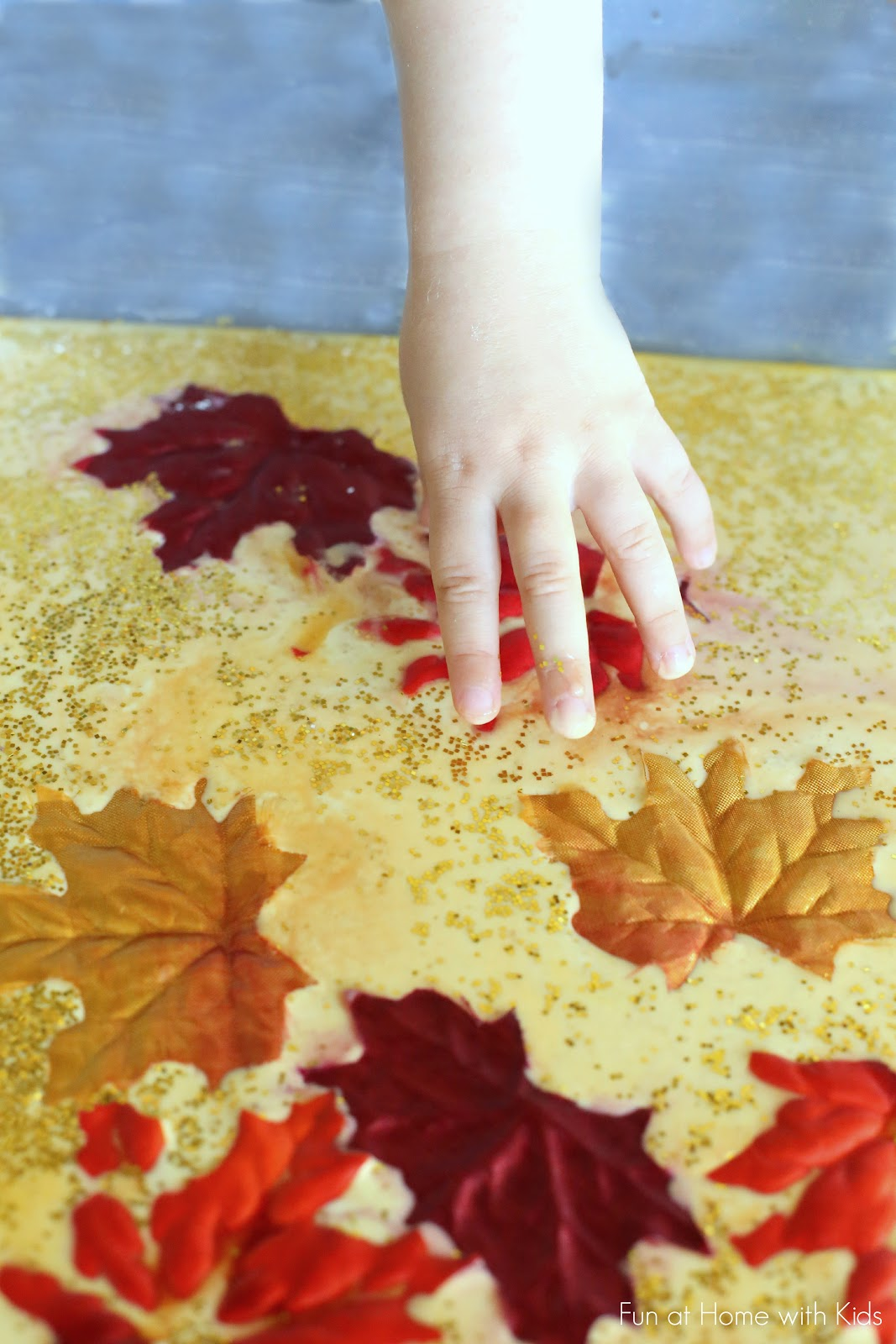 Fall Sensory Play For Toddlers