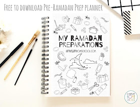Get ready for Ramadan with this free pre-Ramadan preperation planner