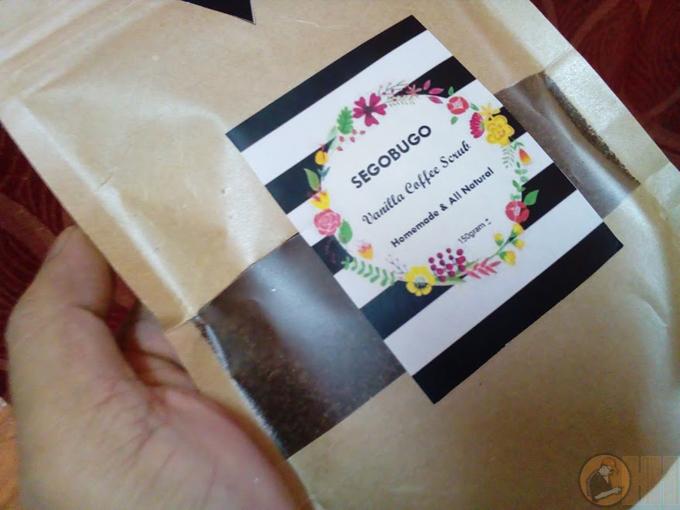 Scrub Kopi Minyak Kelapa Dara, Wangi Dari Segobugo