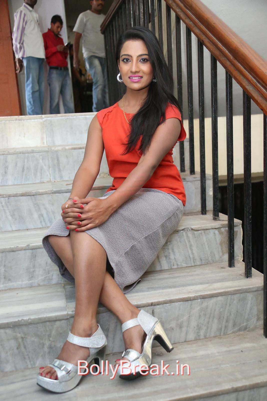 Mamatha Rahuth Unseen Stills, Mamatha Rahuth Hot Pics from National Silk Expo Launch