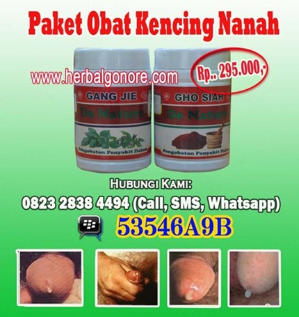 Obat Gonore Kencing Nanah
