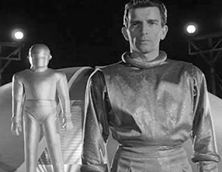 Klaatu and Gort from The Day the Earth Stood Still (1951)