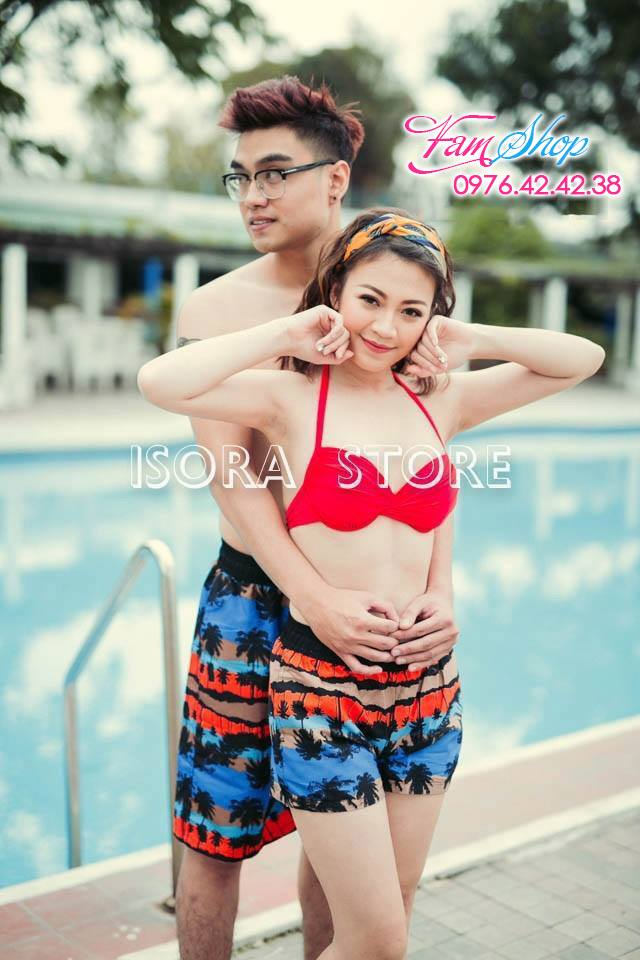 Cua hang do di bien tai Hang Dao