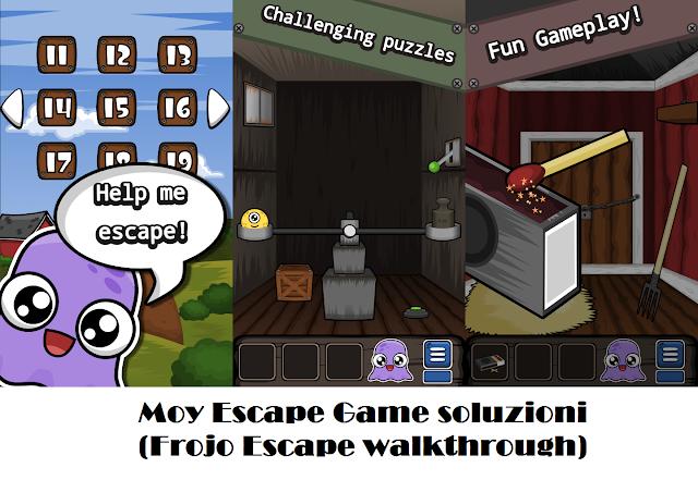 Soluzione livelli giochi di parole e rompicato escape for Minimalist house escape walkthrough