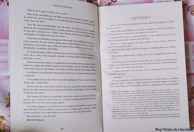 Resenha, livro, Iracema, Jose-de-Alencar, edicao-economica-avon, formato-economico, ciranda-cultural, capa, trecho, polemica, blog-literario-petalas-de-liberdade