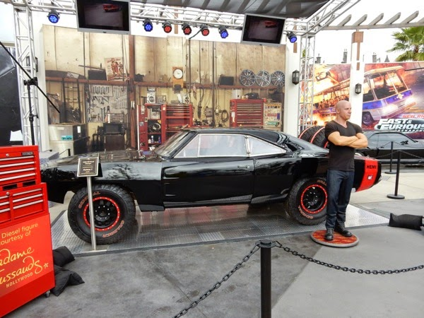 1969 Off Road Charger Furious 7 car Vin Diesel waxwork
