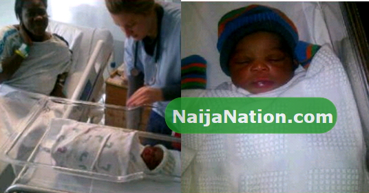 See below for more pictures of mercy johnson newborn baby girl
