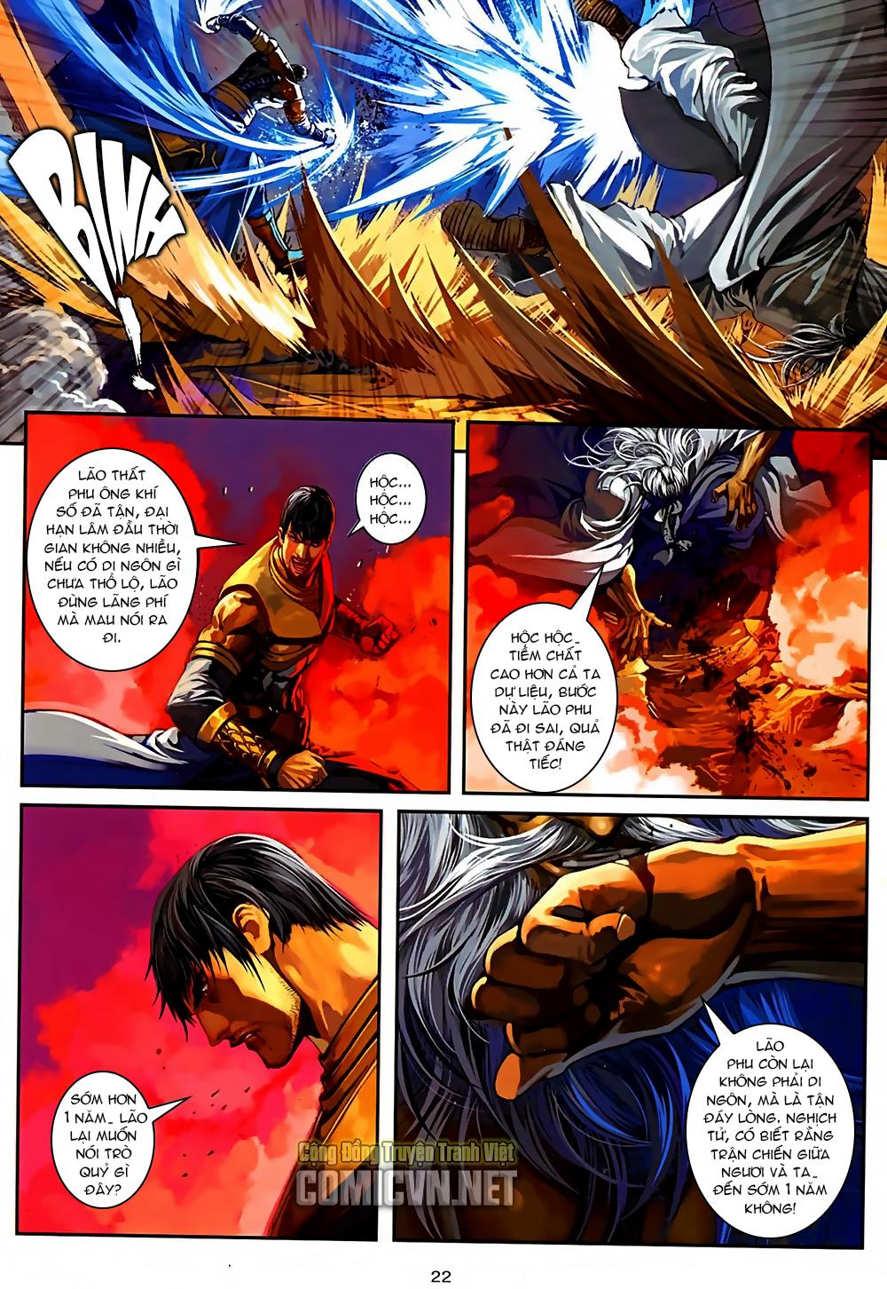 Ôn Thuỵ An Quần Hiệp Truyện Phần 2 chapter 37 trang 22
