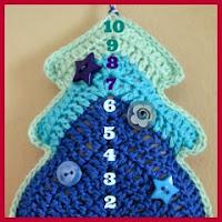 Árbol navideño crochet