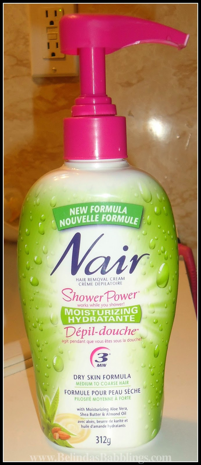 Nair S Shower Power Hair Removal Cream Burned My Armpits Belinda S Babblings