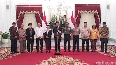 Akhirnya Presiden Utus Panglima TNI dan Kapolri, Untuk Segera Menindak Tegas Pengganggu Persatuan