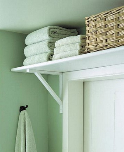 Cheap and Creative Storage Ideas for Small Bathrooms 6
