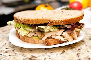 Sriracha Chicken Salad Sandwich