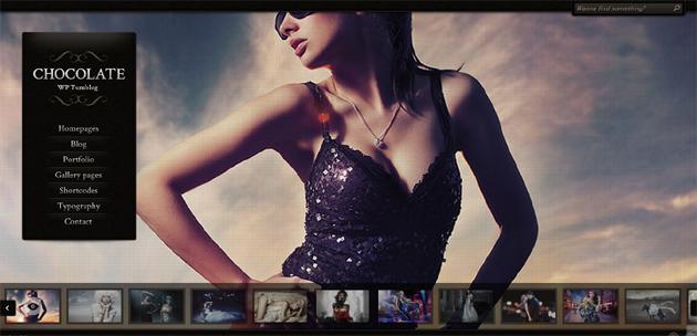 Chocolate Wordpress Video & Fotoğraf Teması