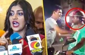 Yashika Anand | complaint against a Police Man