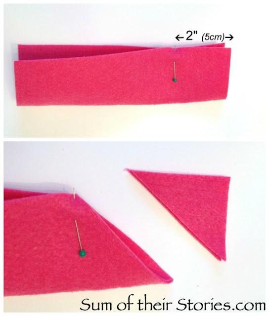 make an easy felt gift card envelope