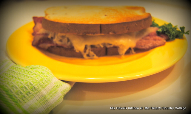 Reuben Sandwich With Nana Sauce at Miz Helen's Country Cottage