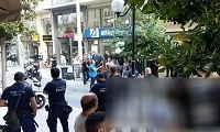 Διαδηλωτές περίμεναν την Κουντουρά έξω από τα γραφεία των ΑΝΕΛ στα Χανιά (βιντεο)