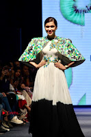 Actress Mannara Chopra Ramp Show in Fashion Dress at Delhi  0005.jpg