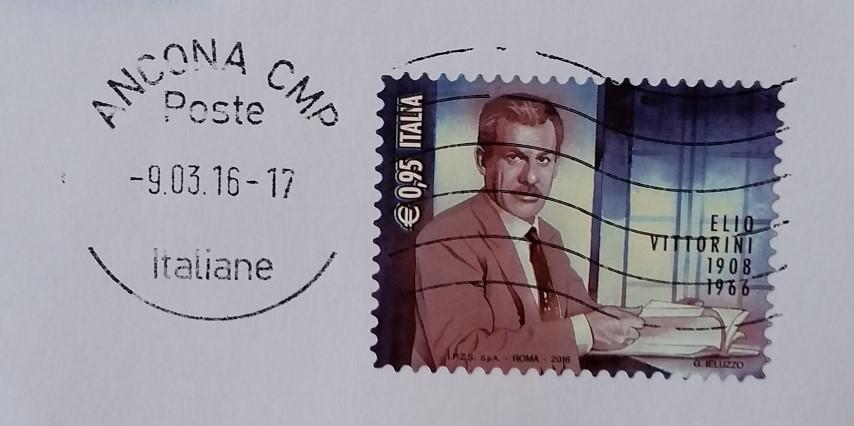 Francobollo dedicato a Elio Vittorini