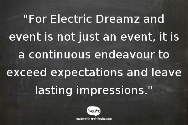 Team Building Company Singapore - Electric Dreamz