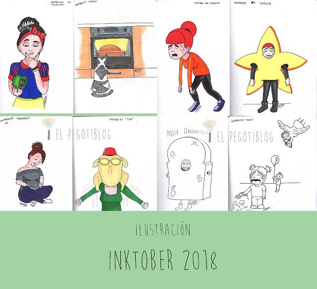Resultado de Inktober 2018 en El pegotiblog