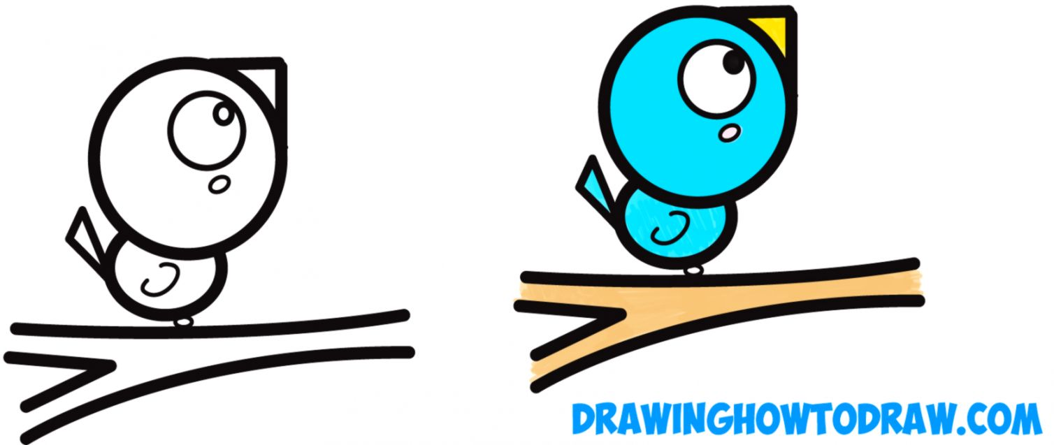 Simple Bird Drawing Important Wallpapers
