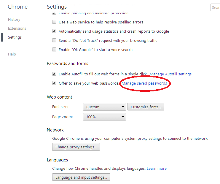 How to see Password in Google Chrome