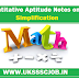 Quantitative Aptitude Notes on Simplification